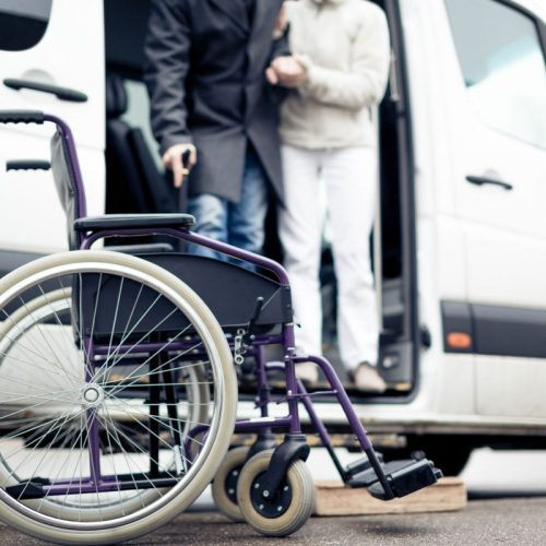 Family Bridges home care offers transportation services.